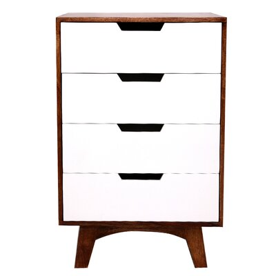 All Home Siena 4 Drawer Chest of Drawers