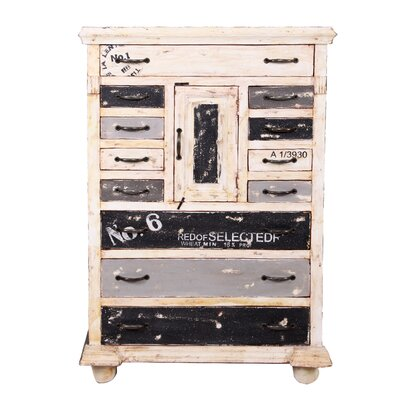 All Home Siena 1 Door 12 Drawer Chest