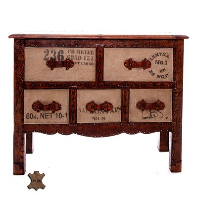 All Home Mesilla 5 Drawer Chest