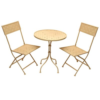 All Home Star Dining Table and 2 Chairs