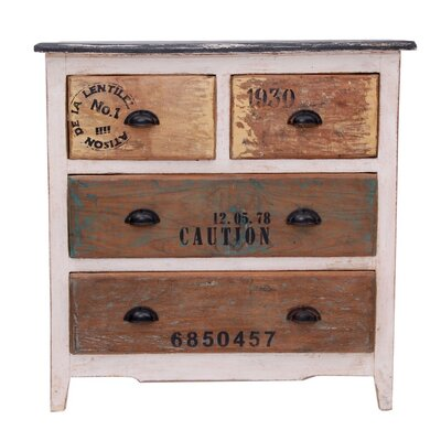 All Home Mesilla 4 Drawer Chest