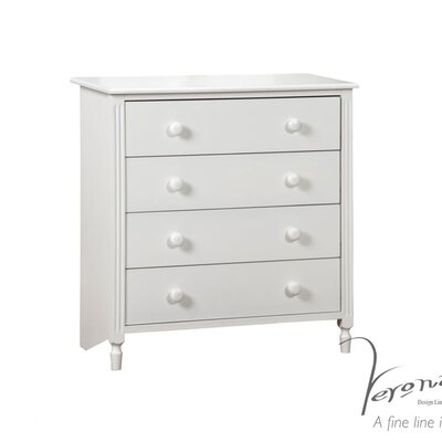 All Home 4 Drawer Chest of Drawers