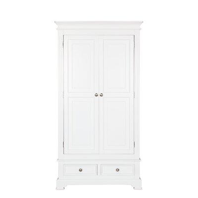 All Home 2 Door Wardrobe