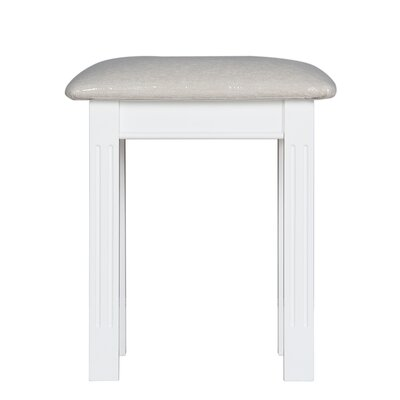 All Home Upholstered Dressing Table Stool