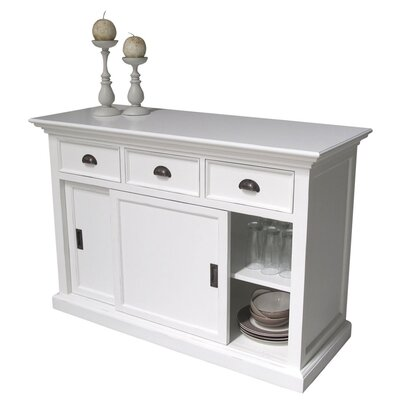All Home 2 Door 3 Drawer Sideboard