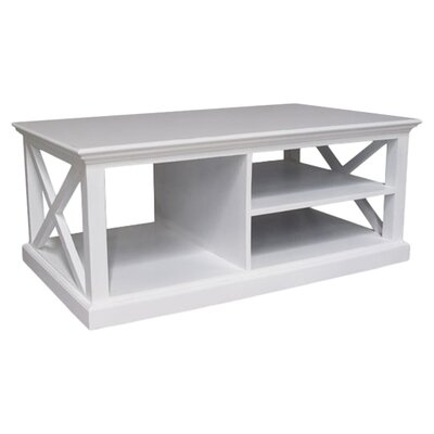 All Home Coffee Table with Magazine Rack