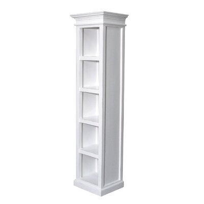 All Home Tall Narrow 190cm Standard Bookcase