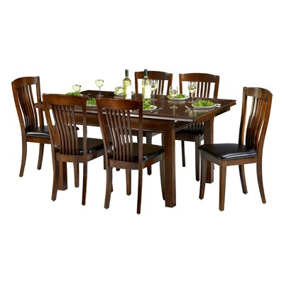 All Home Plymouth Extendable Dining Table and 6 Chairs