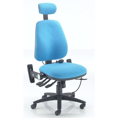 All Home Rohdes High-Back Desk Chair