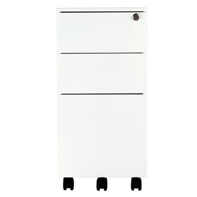 All Home 3 Drawer Mobile Cabinet