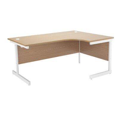 All Home Desk Shell with Cable Management