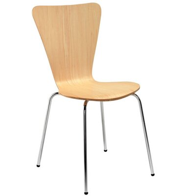All Home Picasso Armless Stacking Chair