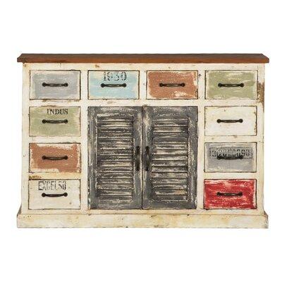 All Home Siena 2 Door 10 Drawer Cabinet