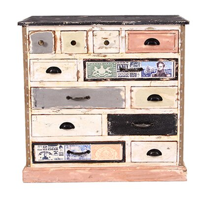 All Home Siena 12 Drawer Chest