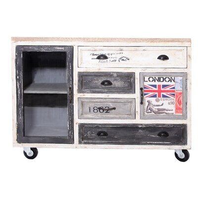 All Home Siena 2 Door 4 Drawer Cabinet