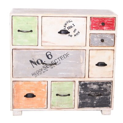 All Home Siena 9 Drawer Chest