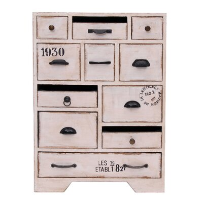 All Home Siena 11 Drawer Chest