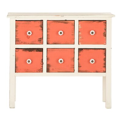 All Home 6 Drawer Chest