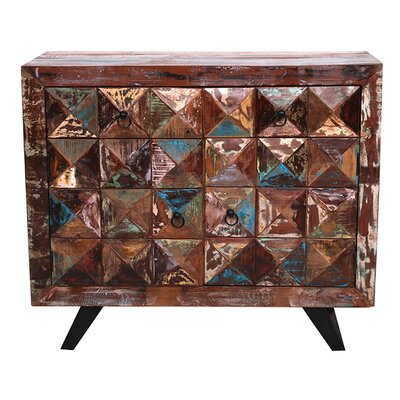 All Home Diamond 2 Door 2 Drawer Cabinet