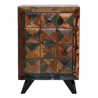 All Home Diamond Side Table
