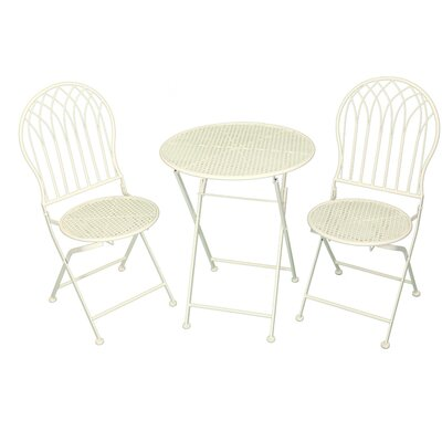 All Home Gothic Dining Table and 2 Chairs