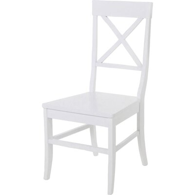 All Home Solid Wood Dining Chair Set