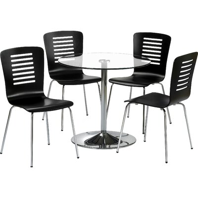 All Home Allenby Dining Table and 4 Chairs