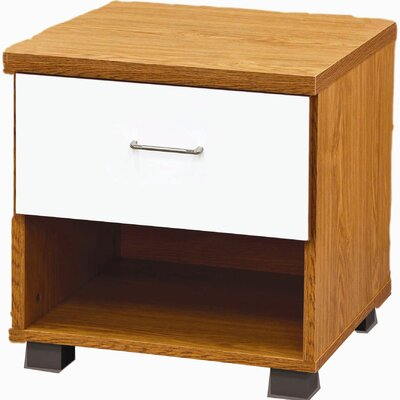 All Home Norfolk Night Stand with Drawer