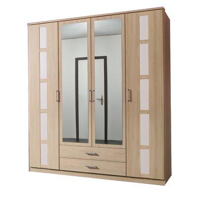 All Home Duo 4 Door Wardrobe