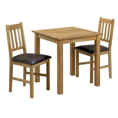 All Home Ashfield Dining Table and 2 Chairs