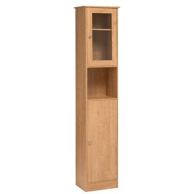 All Home Rhyla 40 x 189cm Free Standing Tall Bathroom Cabinet