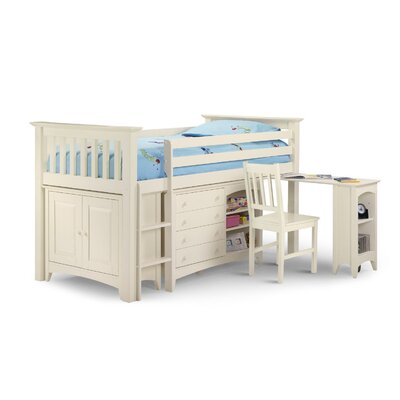 All Home Atlanta Mid Sleeper Bed with Storage