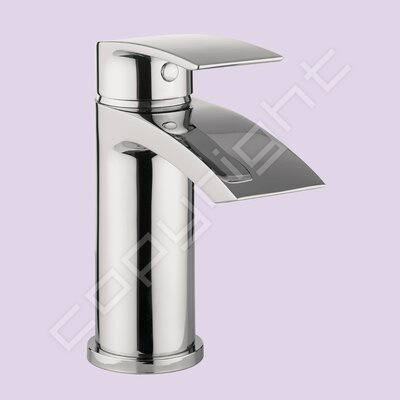 All Home Flow Monobloc Basin Mixer with Waste