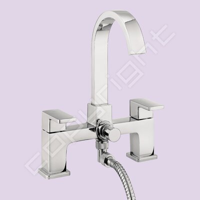 All Home Orbit Waterfall Bath Tap