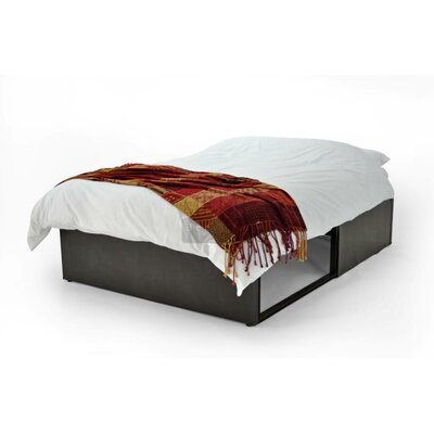 All Home Bottomless Single Upholstered Storage Bed
