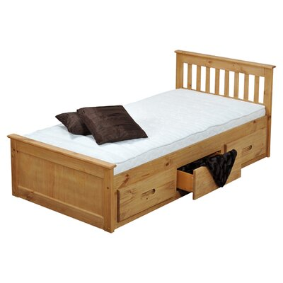 Homestead Living Single Cabin Bed with Storage