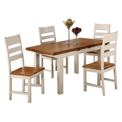 Homestead Living Fertos Extendable Dining Table and 4 Chairs