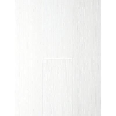 Homestead Living 16.7cm x 120cm x 0.8mm Wood Look Laminate in Ultra White Original