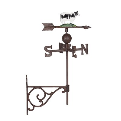 Homestead Living Milbrook Cow Weathervane