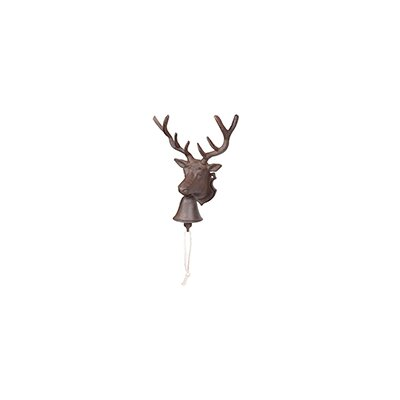 Homestead Living Milbrook Deer Head Bell