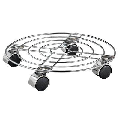 Homestead Living Chrome Wire Trolley