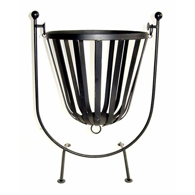 Homestead Living Cloche Hanging Steel Fire Pit
