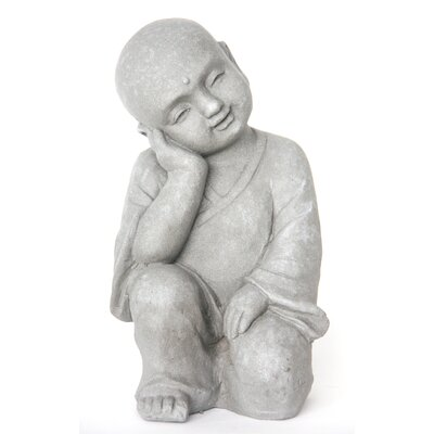 Homestead Living Child Monk Dreaming Statue