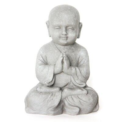 Homestead Living Child Monk Greeting Statue