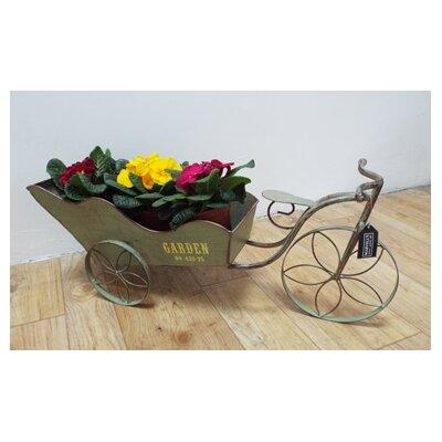 Homestead Living Planter Tricycle Cart Wheelbarrow