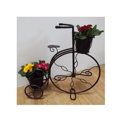 Homestead Living Penny Farthing Novelty Wheelbarrow Planter