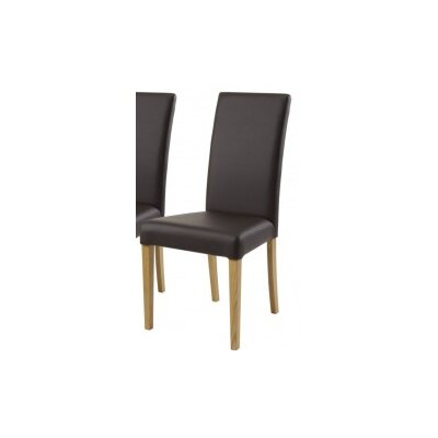 Homestead Living Hyde Solid Oak Upholstered Dining Chair