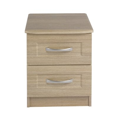Homestead Living 2 Drawer Bedside Table
