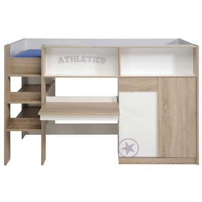 Homestead Living Trancas Mid Sleeper Bed with Storage