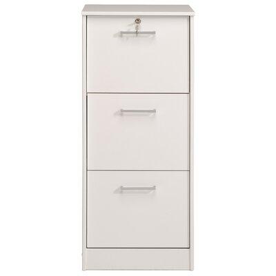 Homestead Living Maine 3-Drawer Vertical Filing Cabinet